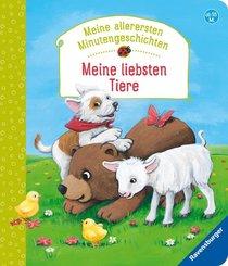 Meine allerersten Minutengeschichten - Meine liebsten Tiere