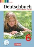 Deutschbuch, Differenzierende Ausgabe Hessen: 6. Schuljahr, Schülerbuch