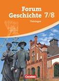 Forum Geschichte, Gymnasium Thüringen: 7./8. Schuljahr, Schülerbuch