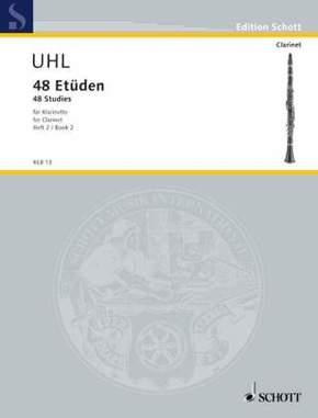 48 Etüden, Klarinette - Bd.2