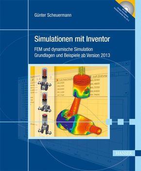 Simulationen mit Inventor, m. CD-ROM