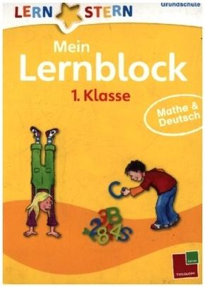 Mein Lernblock 1. Klasse: Mathe & Deutsch