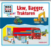 Lkw, Bagger, Traktoren, Audio-CD - Was ist was junior