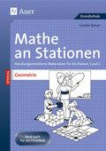 Mathe an Stationen SPEZIAL - Geometrie 1/2