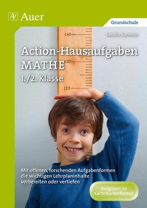 Action-Hausaufgaben Mathe 1./2. Klasse