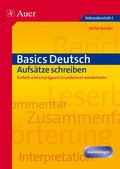 Basics Deutsch, Aufsätze schreiben