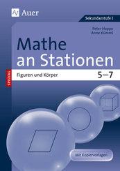Mathe an Stationen spezial  Figuren und Körper 5-7