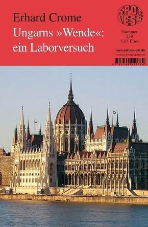 """Ungarns """"Wende"""": ein Laborversuch"""