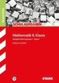 Mathematik 8. Klasse, Wahlpflichtfächergruppe I, Bayern