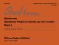 Sämtliche Werke für Klavier zu vier Händen - Bd.1