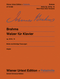 Walzer Nr.15 As-Dur op.39, Klavier