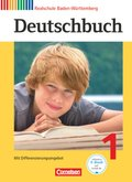 Deutschbuch, Realschule Baden-Württemberg, Neubearbeitung: 5. Schuljahr, Schülerbuch; Bd.1