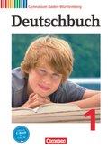 Deutschbuch, Gymnasium Baden-Württemberg, Neubearbeitung: 5. Schuljahr, Schülerbuch; Bd.1