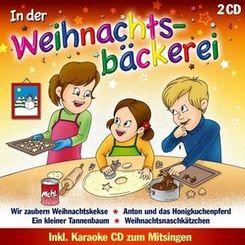 In der Weihnachtsbäckerei, 2 Audio-CDs