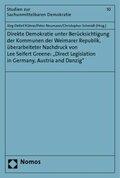 Direkte Demokratie unter Berücksichtigung der Kommunen der Weimarer Republik, überarbeiteter Nachdruck von Lee Seifert G