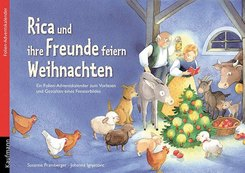 Rica und ihre Freunde feiern Weihnachten