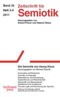 Zeitschrift für Semiotik - Bd.33/3-4