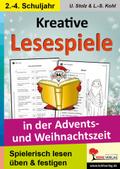 Kreative Lesespiele in der Advents- und Weihnachtszeit