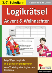 Logikrätsel Advent & Weihnachten