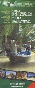 Welt Kompakt Vietnam, Laos, Kambodscha - Der südostasiatische Subkontinent; Vietnam, Laos, Cambodia - The Southeastasia