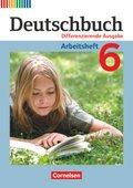Deutschbuch, Differenzierende Ausgabe: 6. Schuljahr, Arbeitsheft