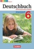 Deutschbuch, Differenzierende Ausgabe Hessen: 6. Schuljahr, Arbeitsheft