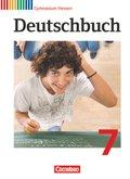 Deutschbuch, Gymnasium Hessen: 7. Schuljahr, Schülerbuch