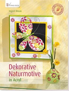 Dekorative Naturmotive in Acryl