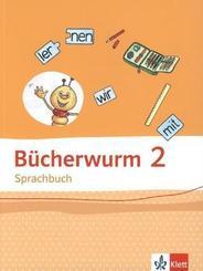Bücherwurm Sprachbuch 2. Ausgabe Berlin, Brandenburg, Mecklenburg-Vorpommern, Sachsen-Anhalt, Thüringen