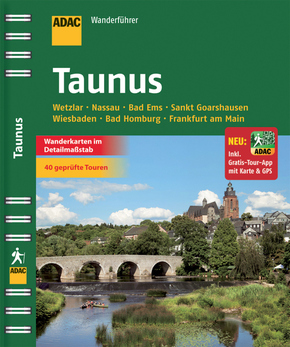 ADAC Wanderführer Taunus