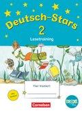 Deutsch-Stars (TING-Ausgabe): 2. Schuljahr: Lesetraining