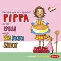 Pippa, die Elfe Emilia und die Käsekuchenschlacht, 2 Audio-CDs