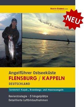 Angelführer Flensburg / Kappeln - 51 Angelplätze mit Luftbildaufnahmen