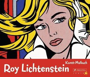 Kunst-Malbuch Roy Lichtenstein