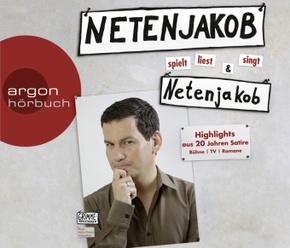 Netenjakob liest, spielt und singt Netenjakob, 1 Audio-CD