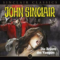 John Sinclair Classics - Die Bräute des Vampirs, 1 Audio-CD