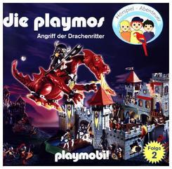 Die Playmos - Angriff der Drachenritter, 1 Audio-CD