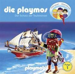 Die Playmos - Der Schatz der Teufelsinsel, 1 Audio-CD