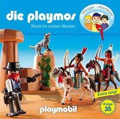 Die Playmos - Streit im Wilden Westen, 1 Audio-CD