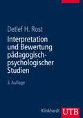 Interpretation und Bewertung pädagogisch-psychologischer Studien