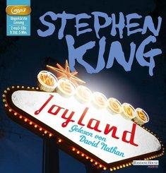 Joyland, 2 Audio-CD, MP3