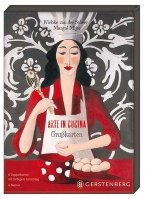 Arte in Cucina - Grußkarten-Set