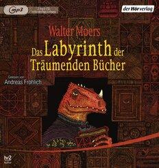 Das Labyrinth der Träumenden Bücher, 2 Audio-CD,