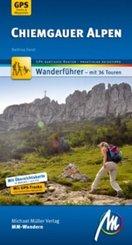 Chiemgauer Alpen MM-Wandern Wanderführer Michael Müller Verlag