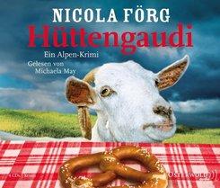 Hüttengaudi, 4 Audio-CDs