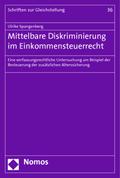 Mittelbare Diskriminierung im Einkommensteuerrecht