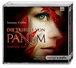 Die Tribute von Panem - Gefährliche Liebe, 6 Audio-CDs