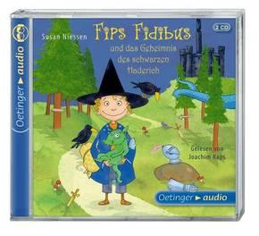 Fips Fidibus und das Geheimnis des schwarzen Haderich, 2 Audio-CDs