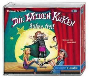Die Wilden Küken - Bühne frei!, 3 Audio-CDs