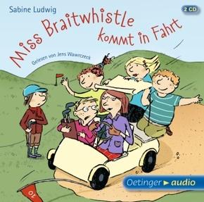 Miss Braitwhistle kommt in Fahrt, 2 Audio-CDs